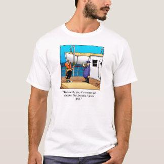 Funny Boating Humor Tee Shirt