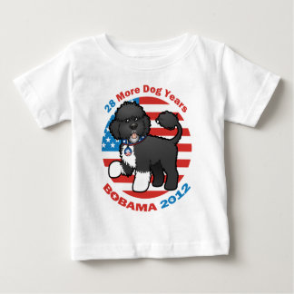 Funny Bobama the Dog 2012 Elections Baby T-Shirt