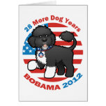 Funny Bobama the Dog 2012 Elections Card