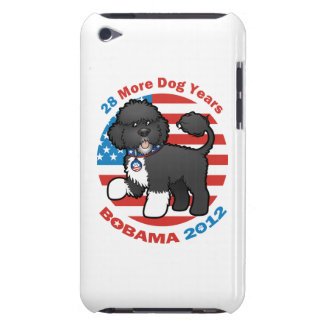 Funny Bobama the Dog 2012 Elections iPod Touch Case-Mate Case