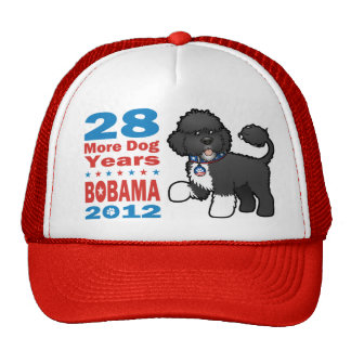 Funny Bobama the Dog 2012 Elections Trucker Hats