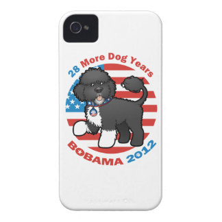 Funny Bobama the Dog 2012 Elections iPhone 4 Case