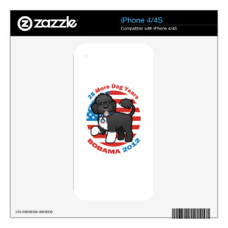 Funny Bobama the Dog 2012 Elections iPhone 4S Skin