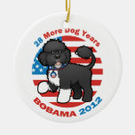 Funny Bobama the Dog 2012 Elections Ornament