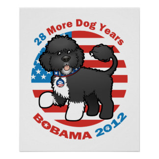 Funny Bobama the Dog 2012 Elections Poster
