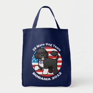 Funny Bobama the Dog 2012 Elections Tote Bag