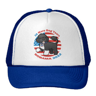 Funny Bobama the Dog 2012 Elections Trucker Hat