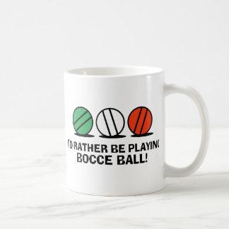 Funny Bocce Ball Coffee Mug