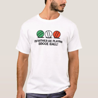 Funny Bocce Ball T-Shirt
