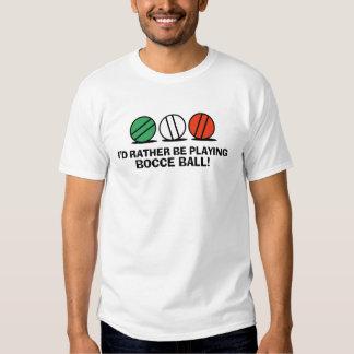 Funny Bocce Ball Tee Shirt