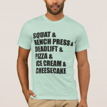 c0e02f678f Squat, Bench, Deadlift, Pizza, Ice Cream, Cheesecake | Funny Gym ...
