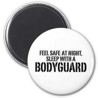 Funny Bodyguard Magnet