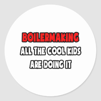Funny Boilermaker Shirts and Gifts Classic Round Sticker