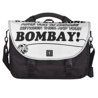 Funny bombay designs bags for laptop