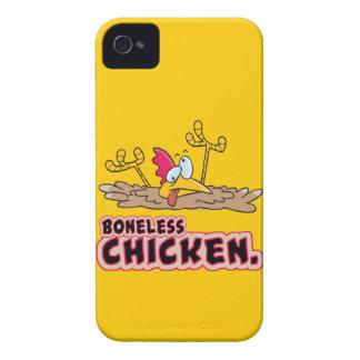 funny boneless chicken cartoon Case-Mate iPhone 4 case
