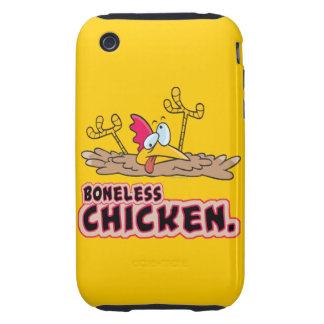 funny boneless chicken cartoon iPhone 3 tough cover
