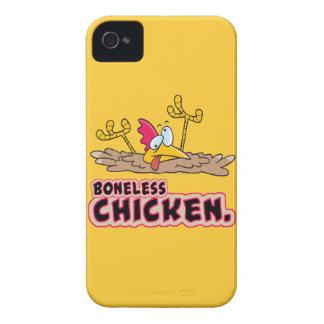 funny boneless chicken cartoon iPhone 4 Case-Mate case