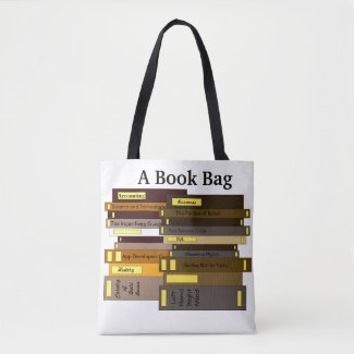 Funny Book Bag of Books Tote