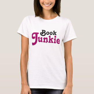 Funny Book Junkie Reading Gift T-Shirt