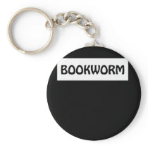 Funny Book Lover Design Funny Book Lover Shirt. Keychain