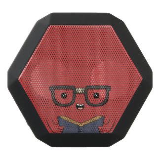 Funny Bookish Monster. Black Bluetooth Speaker