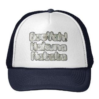 Funny Booyah Hakunamatata Trucker Hat