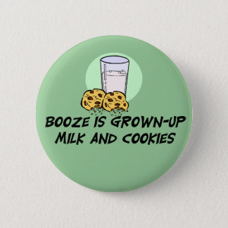 Funny Booze Quote Button