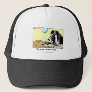 Funny Border Collie Cap
