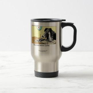 Funny Border Collie Travel Mug