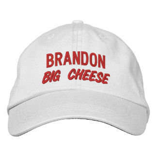 Funny BOSS Big Cheese Hat with Custom Name V08