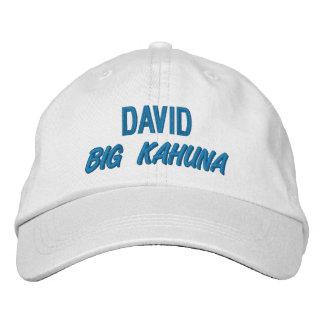 Funny BOSS Big Kahuna Hat with Custom Name V09