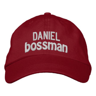 Funny BOSS Bigwig Hat with Custom Name V13
