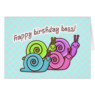 FUNNY BOSS BIRTHDAY  SPEEDO & SPAGO CARD