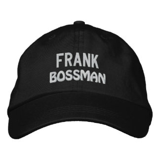 Funny BOSS Bossman Hat with Custom Name V17