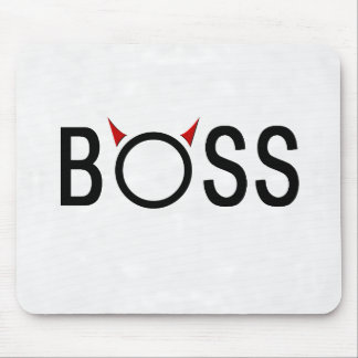 Funny Boss Gifts Mouse Pad