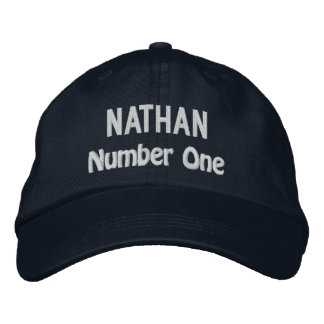 Funny BOSS Number One Hat with Custom Name V20