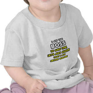 Funny Boss T-Shirts and Gifts Tshirt