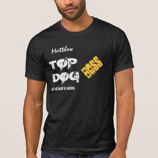 Funny Boss TOP DOG Custom Name V04