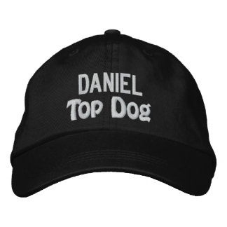 Funny BOSS Top Dog Hat with Custom Name V14