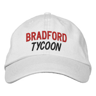 FUNNY Boss Tycoon Custom Name V09 Embroidered Baseball Hat