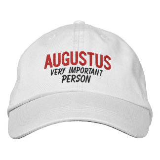 FUNNY Boss Very Important Person Custom Name V11 Embroidered Baseball Cap