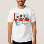 Funny Bowling Ball Police Line Up T-shirt