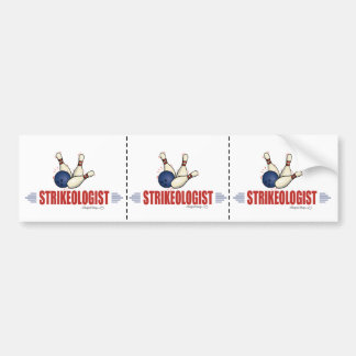 Funny Bowling Bumper Stickers