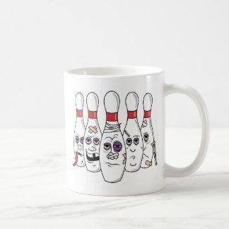 Funny Bowling Classic White Coffee Mug