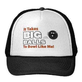 Funny Bowling Trucker Hats
