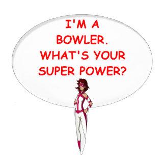 funny bowling joke cake pick