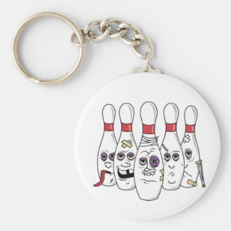 Funny Bowling Keychain