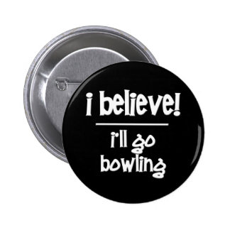 Funny Bowling Pinback Button
