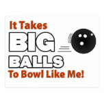 Funny Bowling Postcards