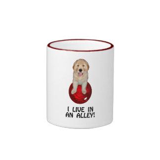 Funny Bowling Shirts and Novelty Gifts Ringer Mug